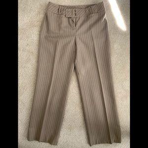 LOFT pinstripe slacks